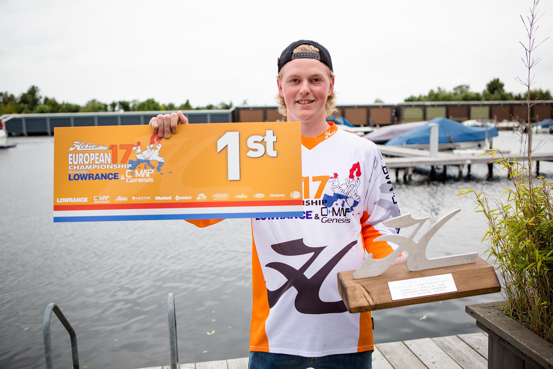Albin Falk wins the 4th Hobie Fishing Euro's!